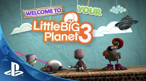 LittleBigPlanet 3 - Gamescom - Create and Share Trailer PS4