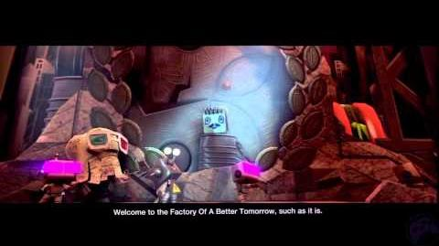 LBP2 Story 3-Intro - The Sad Song Of Clive Handforth