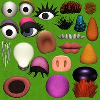 Muppetspack-decorations