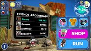Run Sackboy Run! Main Menu