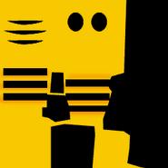 Bumble bee skin