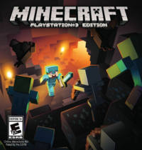 200px-Minecraft PS3 Cover