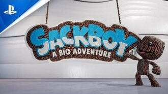 Sackboy A Big Adventure - Announcement Trailer PS5