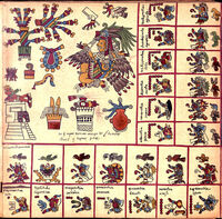 The 15 page of the Codex Borbonicus