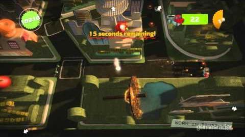 LittleBigPlanet Karting gameplay - Monster Trucks
