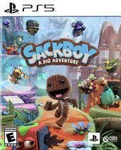Sackboy A Big Adventure PS5 Box Art