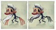 17 33 07 758 Puppet Master Concepts Coloured