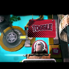 Toggle introduced in Gameplay.