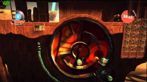 LittleBIGPlanet (720p HD) Walkthrough Part 45 - Puzzle Wheel - Score Challenge