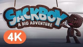 Sackboy A Big Adventure - Official Reveal Trailer PS5 Reveal Event