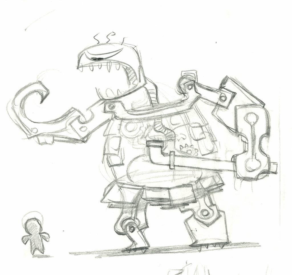 Sackboy Concept Art