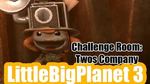 Challenge Room Two's Company LittleBigPlanet 3 Gameplay