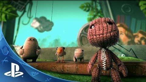 LittleBigPlanet 3 - E3 2014 Announce Trailer (PS4)-1