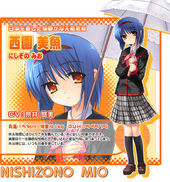 Mio vn character sheet
