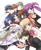 Little Busters! main cast