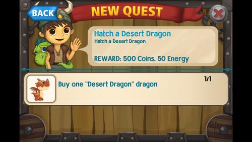 Hatch a desert dragon