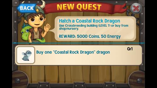 Hatch a coastal rock dragon