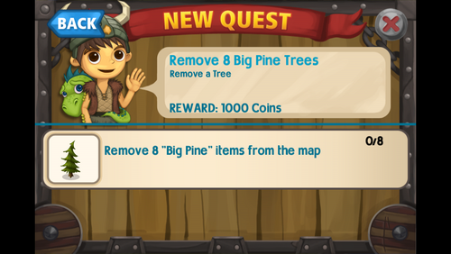 Remove 8 big pine trees