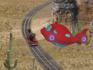 Back - Little Red Train & Rocket