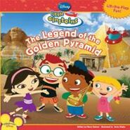 Little Einsteins - The Legend of the Golden Pyramid Book Cover