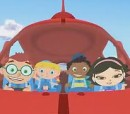 Rocket with da little einsteins inside