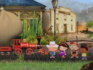 Little Red Train and Little Einsteins