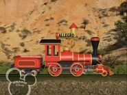 Little Red Train with Allegro Horn