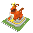 Dragon Slayer Statue