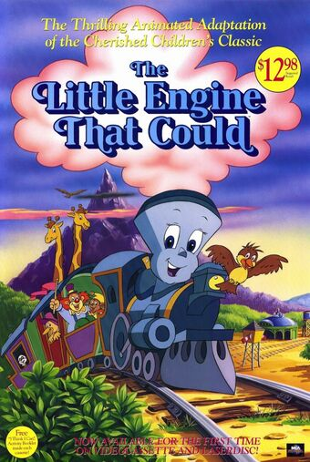 The Little Engine That Could (1991 film) | The Little Engine That ...