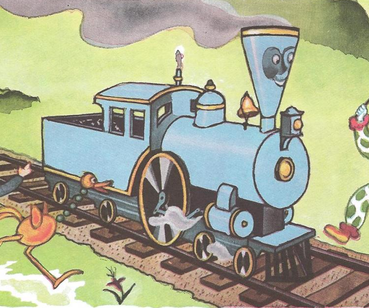 The Little Engine That Could | Busy Beaver Button Museum |Little Blue Engine That Could