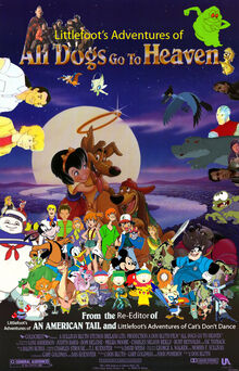 Littlefoot's Adventures of All Dogs Go to Heaven Poster