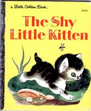Shy little kitten 1