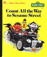 Count all the way to sesame street 1990 little golden book