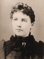 Laura Ingalls Wilder cropped sepia2