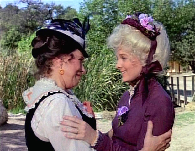 who played mrs oleson on little house