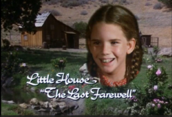 Little House the Last Farewell opening screen