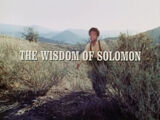 Episode 318: The Wisdom of Solomon