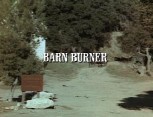 barn burning setting