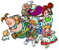 Main Characters HQ Art