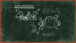Buff Lumberjack Info