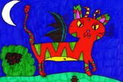 Evil Dragoon Cat