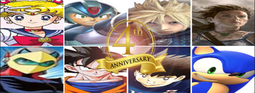 4th Anniversary Banner