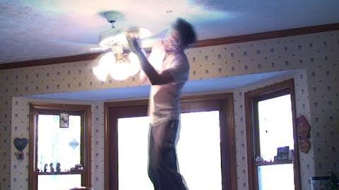 Ceiling Fan Trick Knockdown