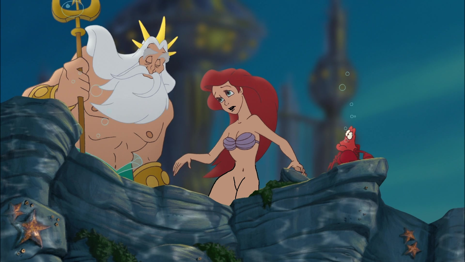 Little mermaid sex scene naked — photo 9