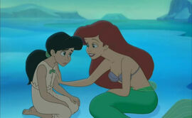 The Little Mermaid 2 Melody and Ariel (9)