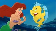 Return to the Sea Ariel and Flounder