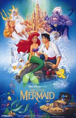 Little mermaid poster