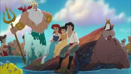Ariel, Eric, Melody and all