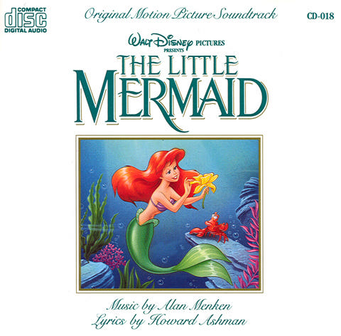 The Little Mermaid Original Walt Disney Records Soundtrack