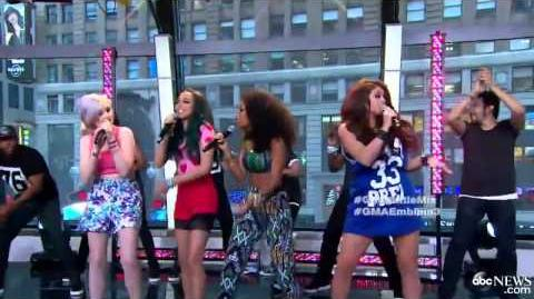 "Little Mix Performs ""Wings"" on Good Morning America"
